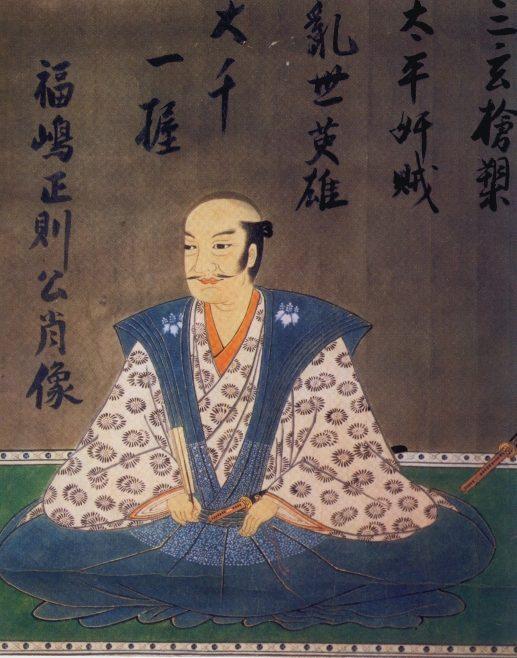 福島正則肖像画 / 東京国立博物館蔵
